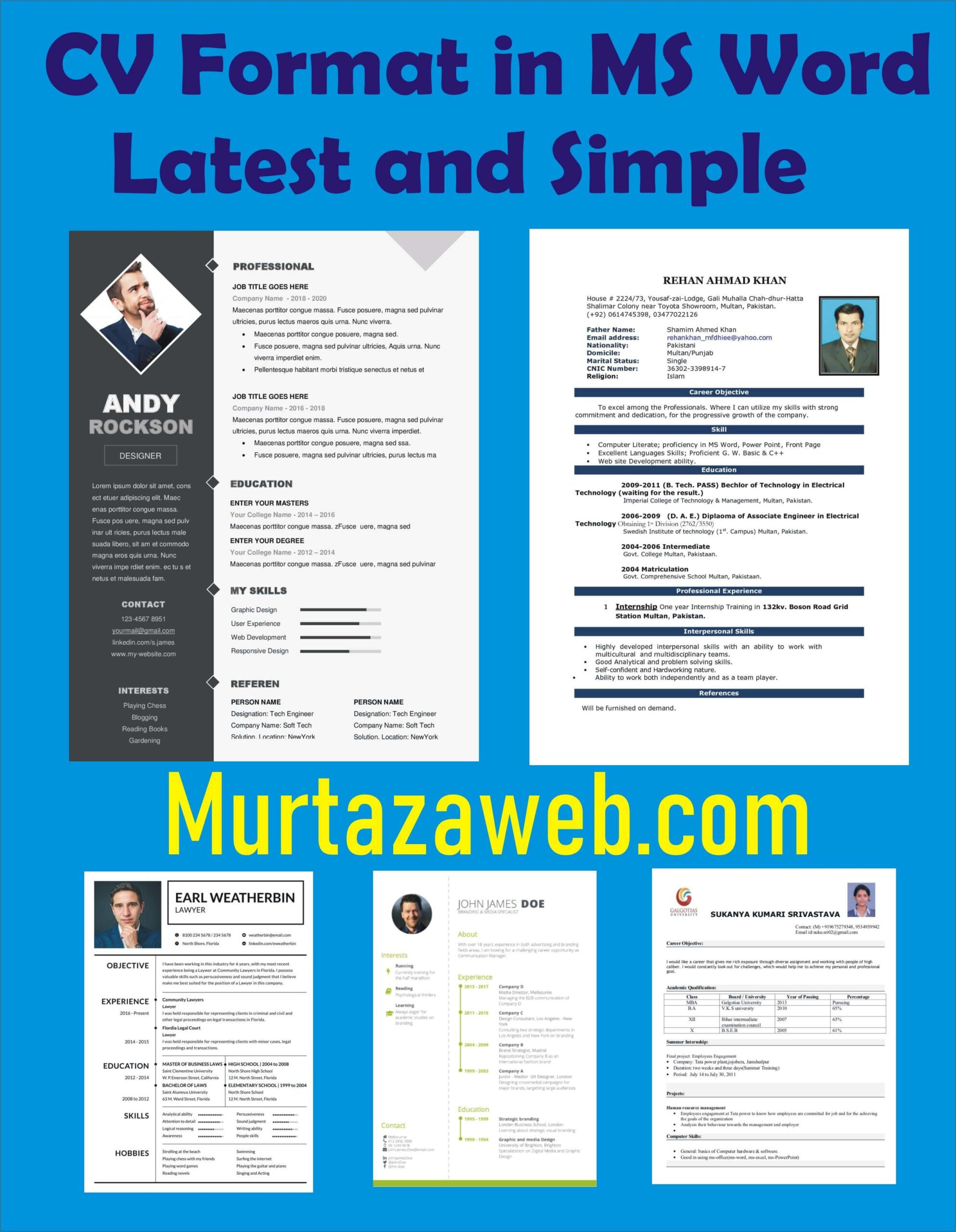 resume templates cv format top in ms word free latest and simple writing your address on Resume Word 2003 Resume Templates Free
