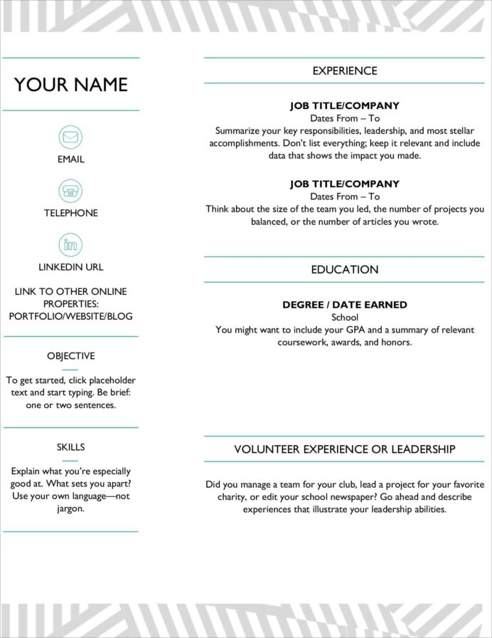 resume templates for microsoft word free builder ms word23 accomplishments high school Resume Microsoft Resume Builder Download