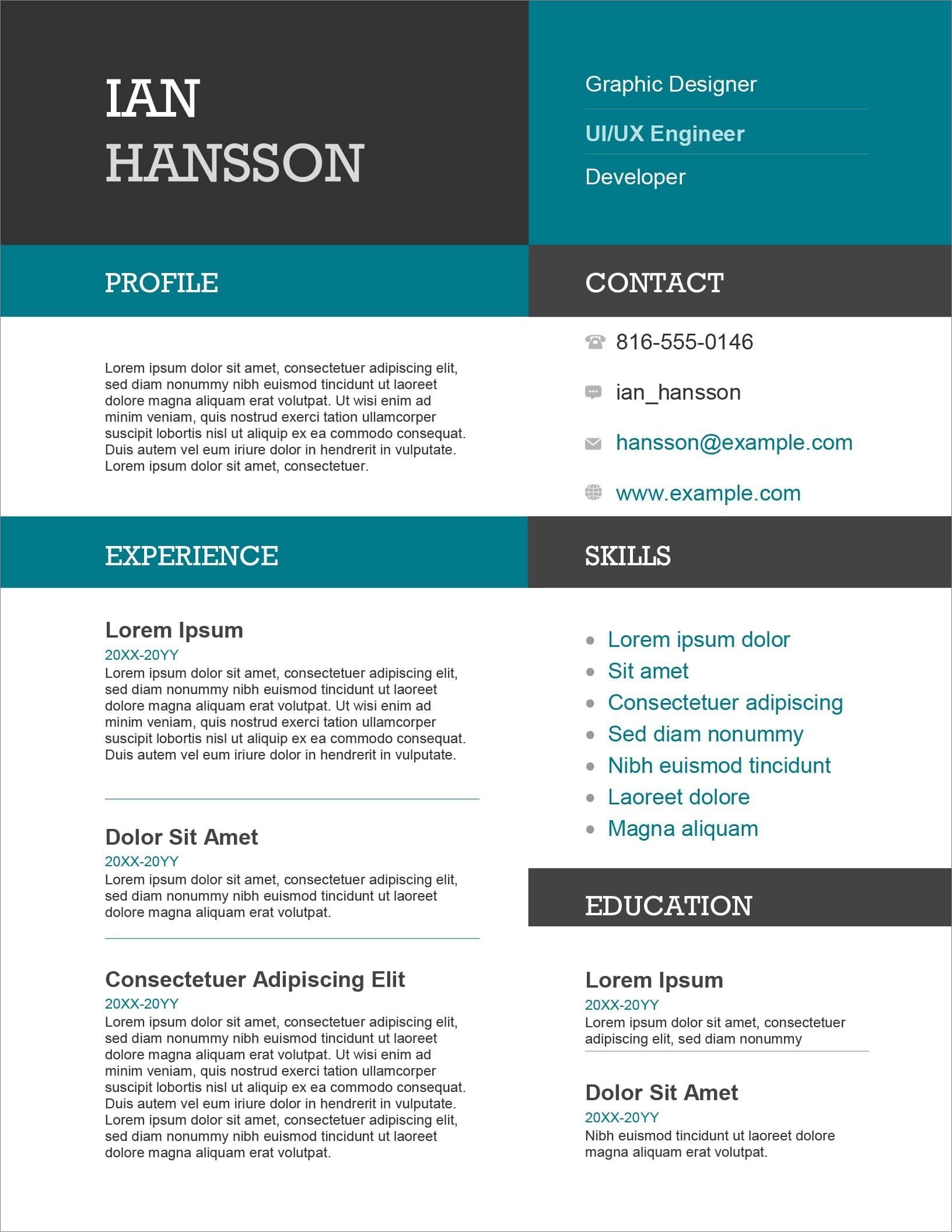 resume templates for microsoft word free does have ms word19 student nau help food Resume Does Word Have Resume Templates