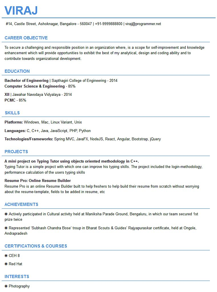 resume templates free builder resumepro ceh for freshers template desktop trms cover Resume Ceh Resume For Freshers