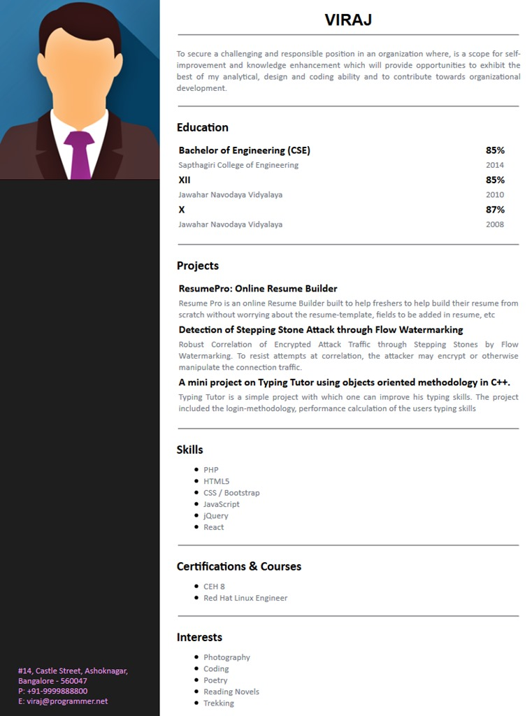 resume templates free builder resumepro ceh for freshers template physical therapist Resume Ceh Resume For Freshers