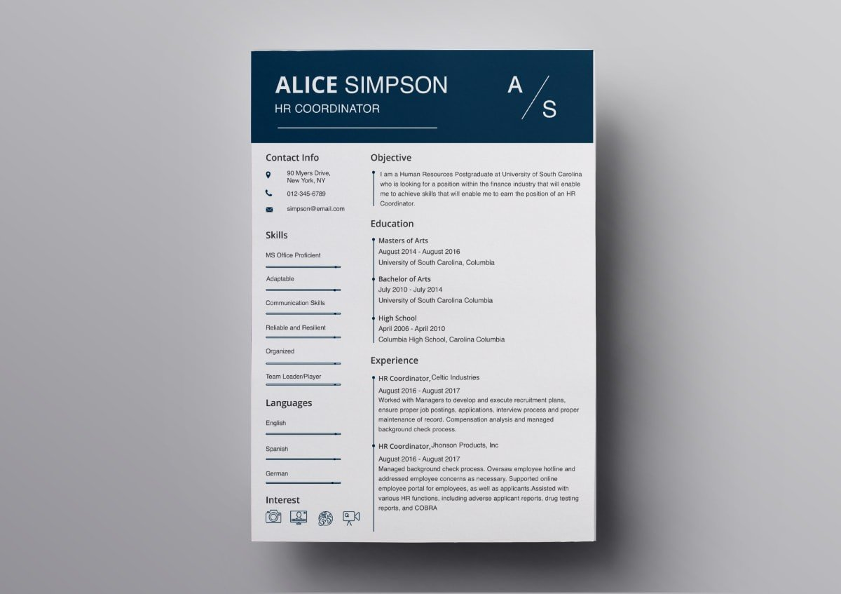 resume templates free for mac template word min acceptable reasons leaving job on Resume Resume Template Word Mac
