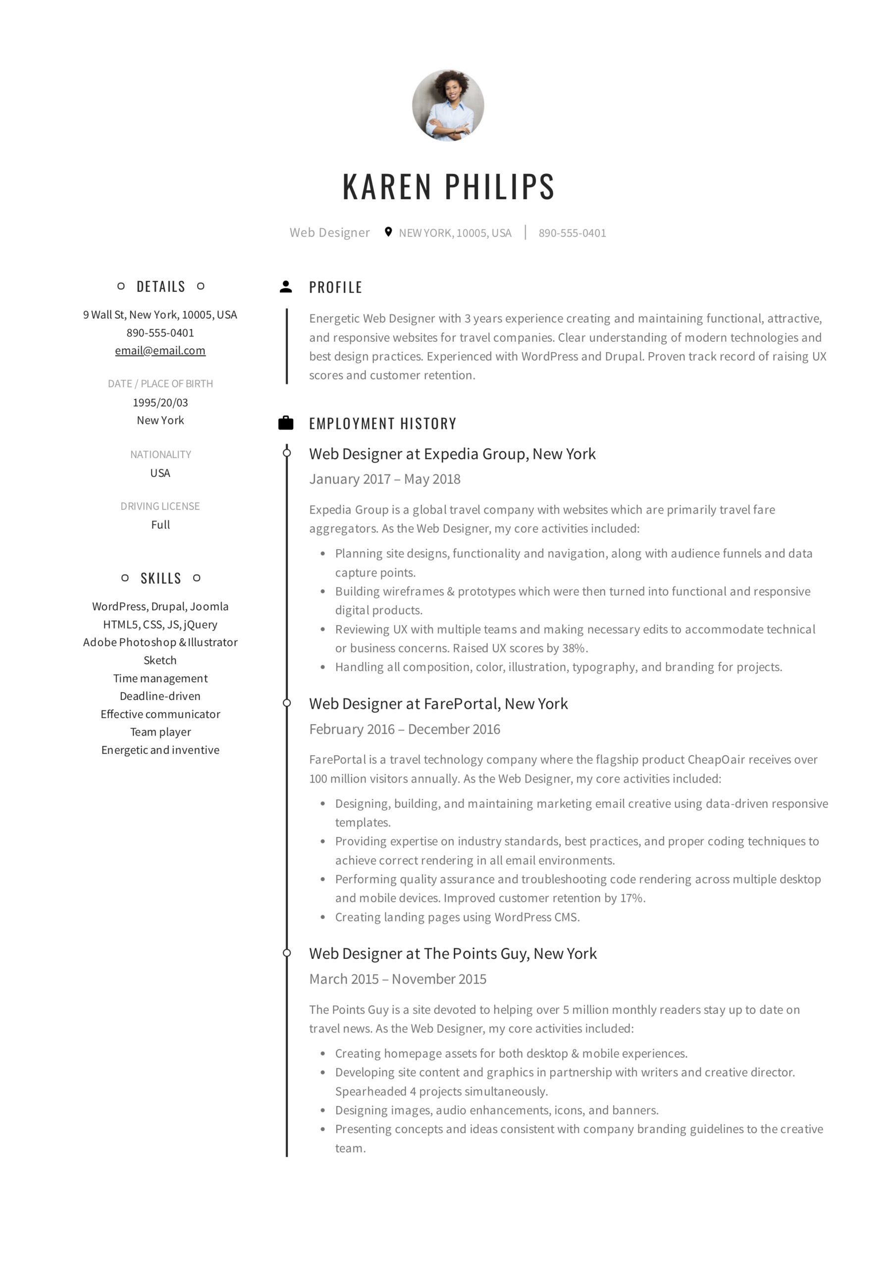 resume templates pdf word free downloads and guides of government employee karen philips Resume Resume Of Government Employee