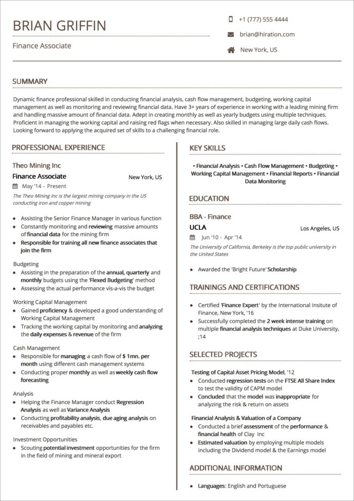 resume templates the guide to choosing best template for experienced professionals Resume Resume For Experienced Professionals Templates