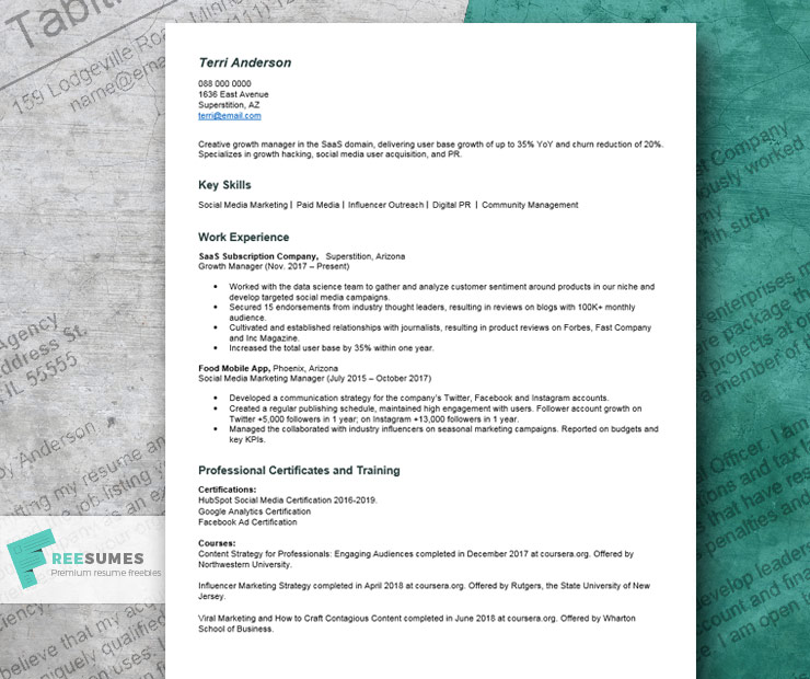 resume with no college degree example writing tips freesumes on for server template Resume College Degree On Resume