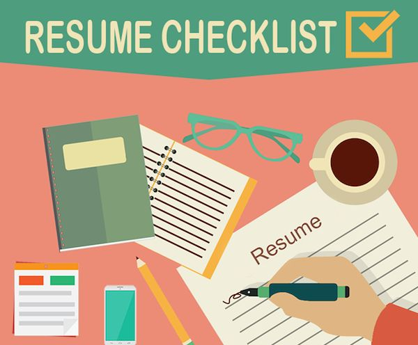 resume writing guides checklist for collaborate with team members data analyst examples Resume Checklist For Resume Writing