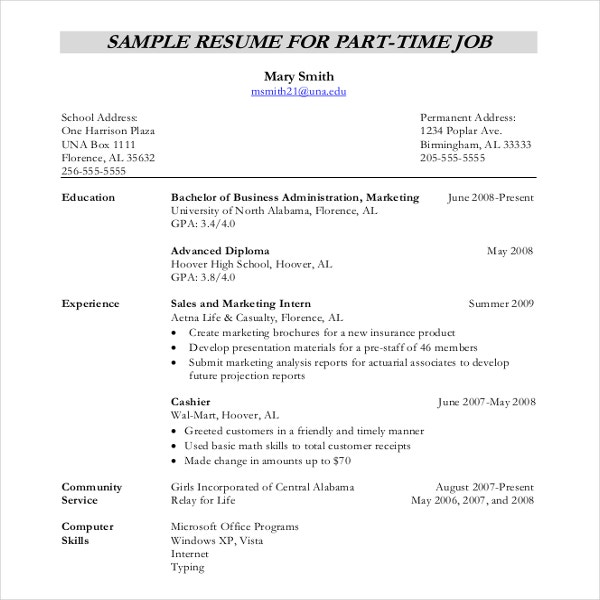 resume writing template free sample example format premium templates typing up for job Resume Typing Up A Resume For A Job