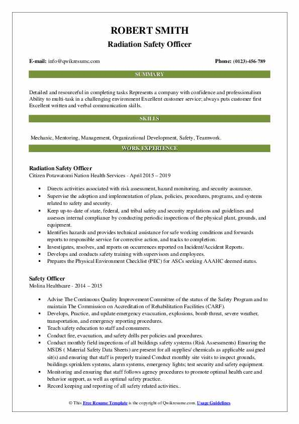 safety officer resume samples qwikresume sample for freshers pdf licenses and Resume Safety Officer Resume Sample For Freshers