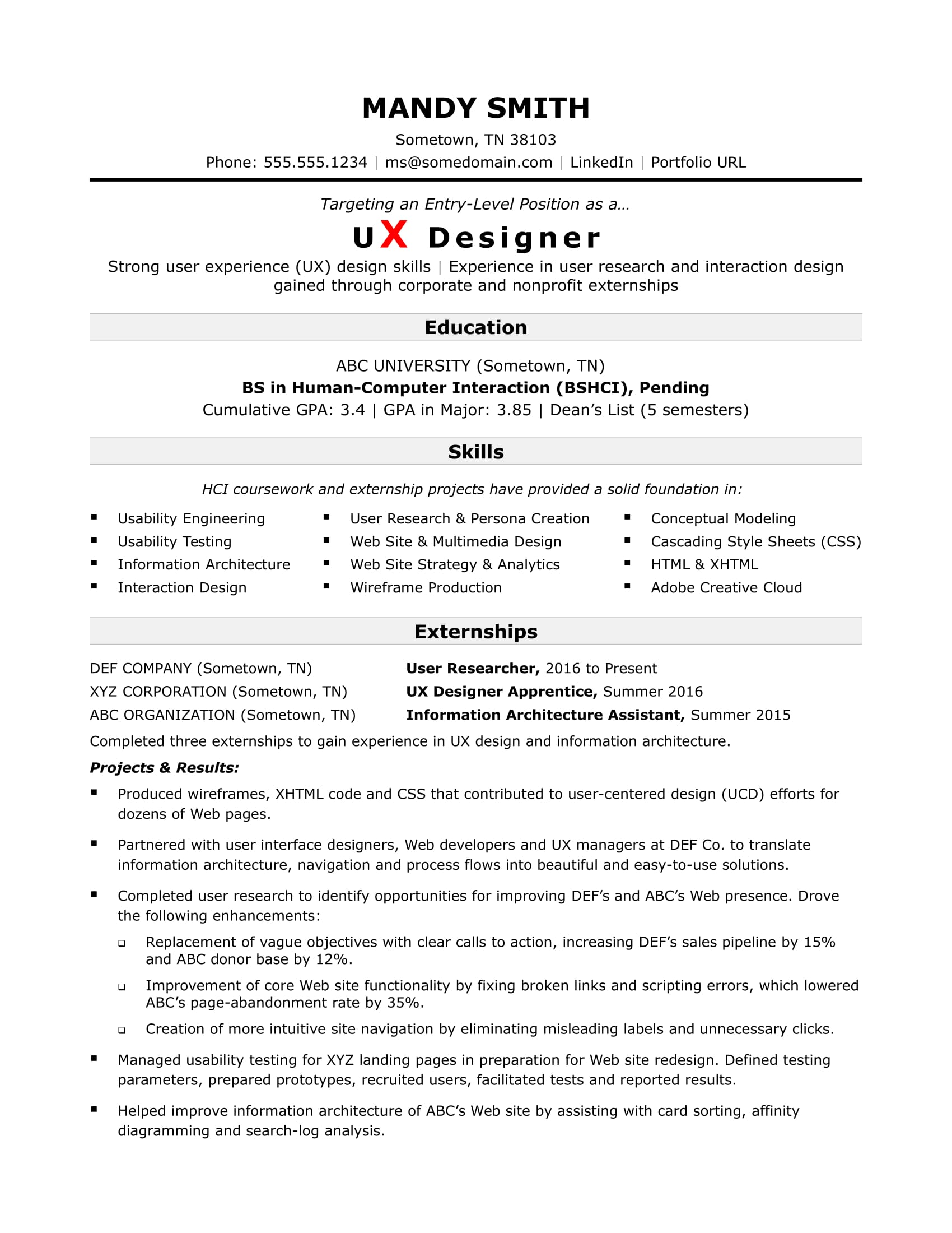 sample resume for an entry level ux designer monster beginner fashion should put hobbies Resume Beginner Fashion Designer Resume