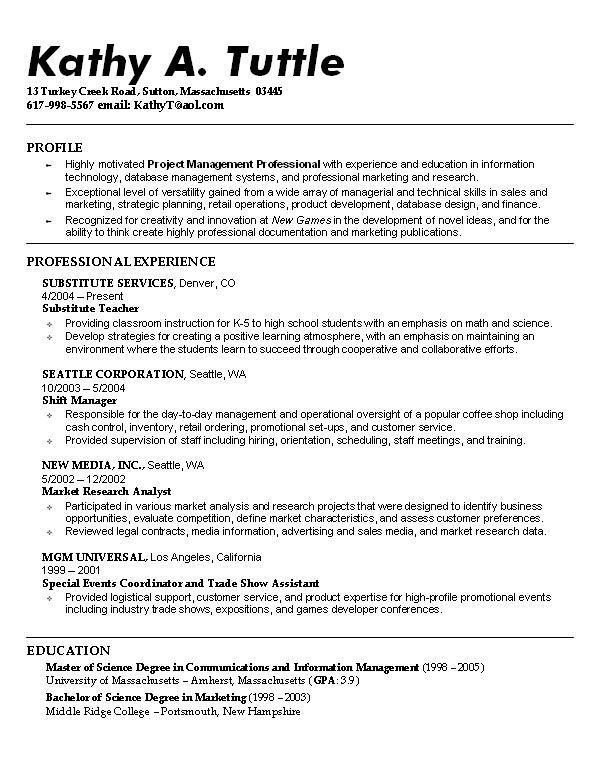 sample resume student template job examples objective best templates for students Resume Best Resume Templates For Students