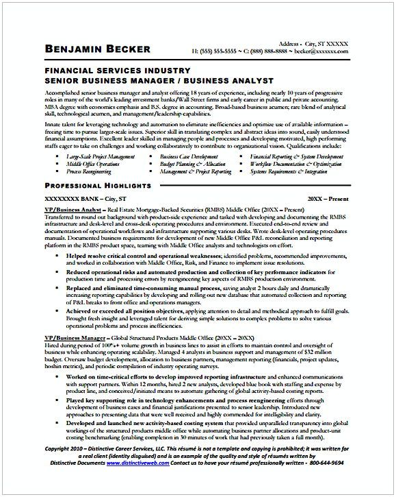 sample senior business manager analyst resume entry level are you fresh gradua excellent Resume Excellent Business Analyst Resume