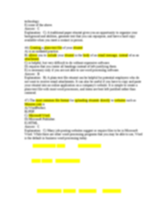 scannable u00e9sum u00e9 differs from the traditional format in that its formatting Resume Creating A Scannable Resume