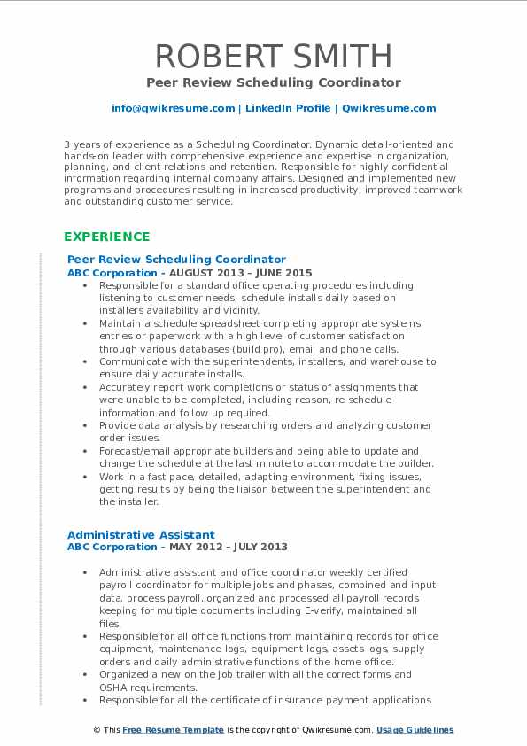 scheduling coordinator resume samples qwikresume for pdf naukrigulf services review Resume Resume For Scheduling Coordinator