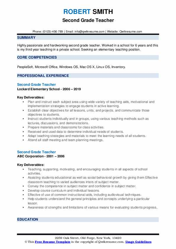second grade teacher resume samples qwikresume gifted and talented pdf fast food examples Resume Gifted And Talented Teacher Resume