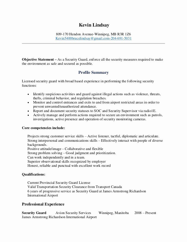 security guard job description resume unique kevin lindsay examples sample airport Resume Airport Security Resume Objective