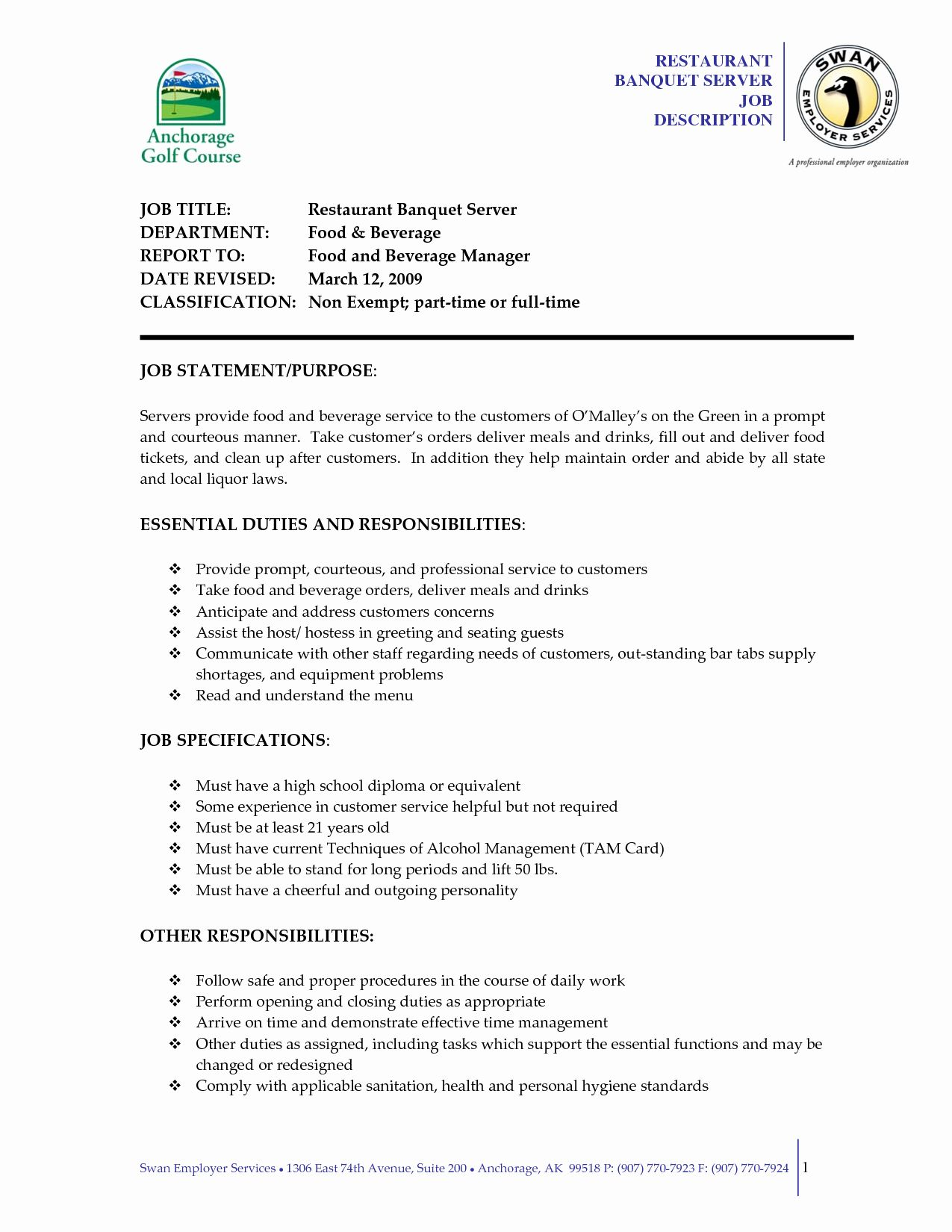 server job description resume beautiful serving examples sample formatting ideas in guide Resume Server Duties And Responsibilities For Resume
