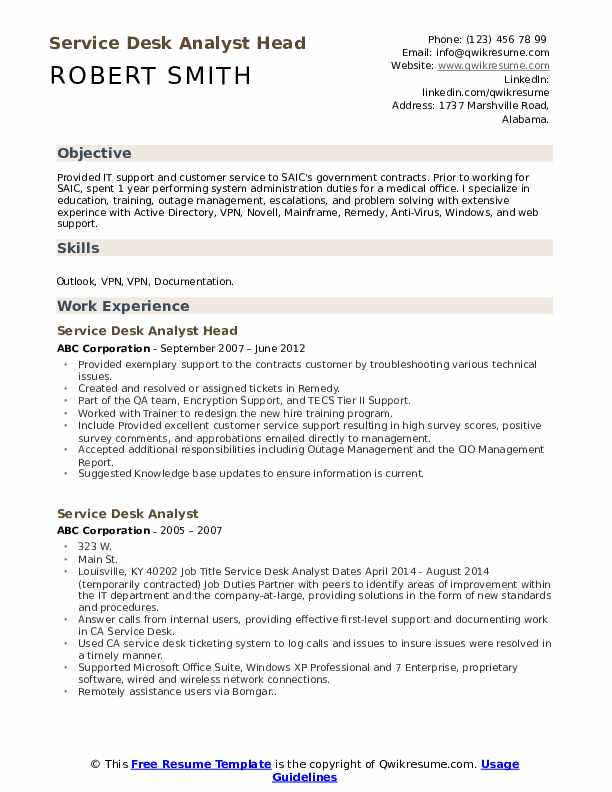 service desk analyst resume samples qwikresume help summary pdf good example event Resume Help Desk Resume Summary