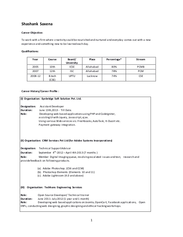 shashank saxena cv with experience in angular and node resume saxenacv overview examples Resume Angular Experience Resume