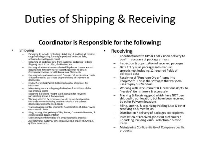 shipping and receiving resume fiber maintenance engineer outline education font size Resume Shipping And Receiving Resume