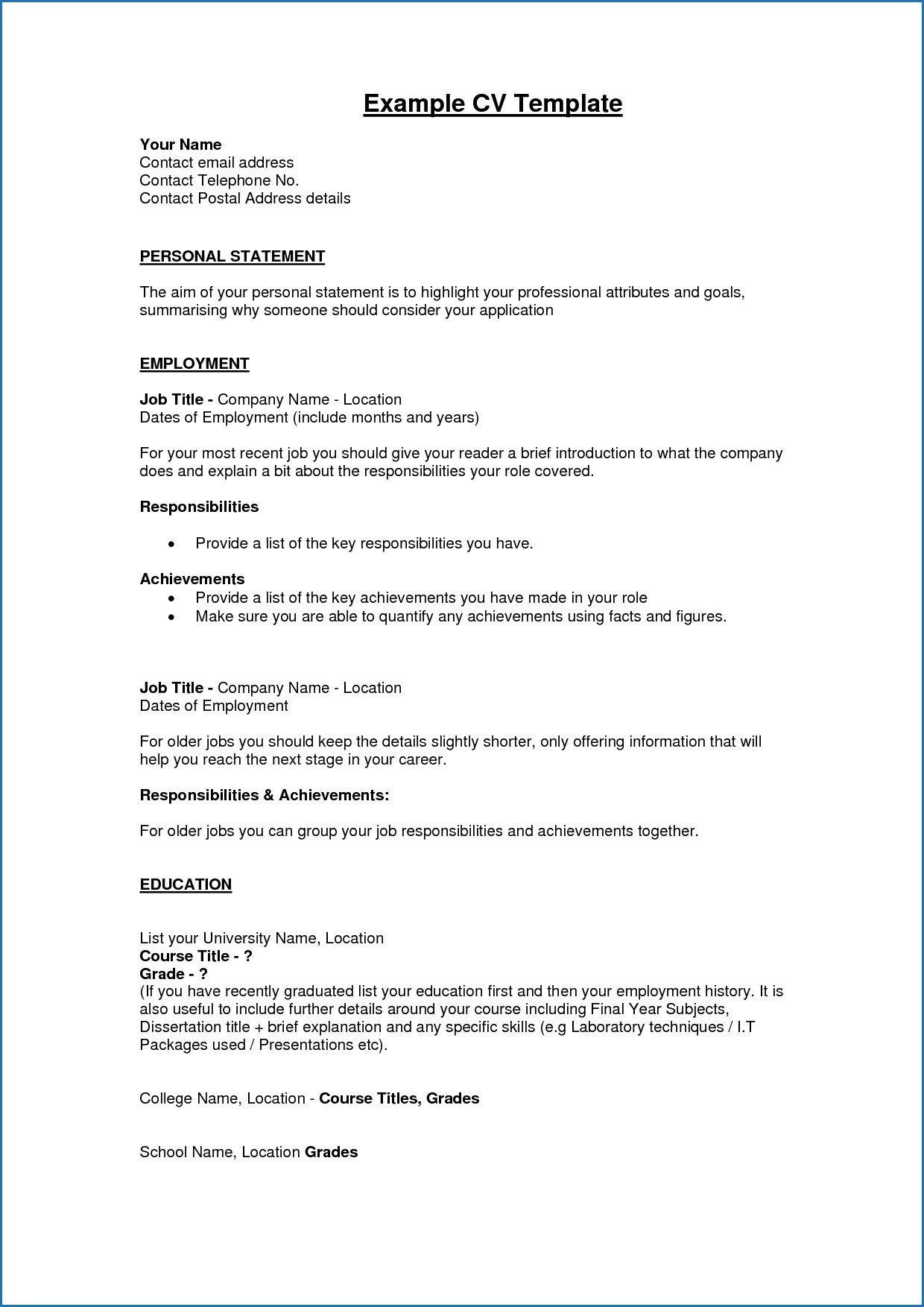 should put high school on resume luxury examples resumes free profile res personal Resume Should I Include High School On Resume