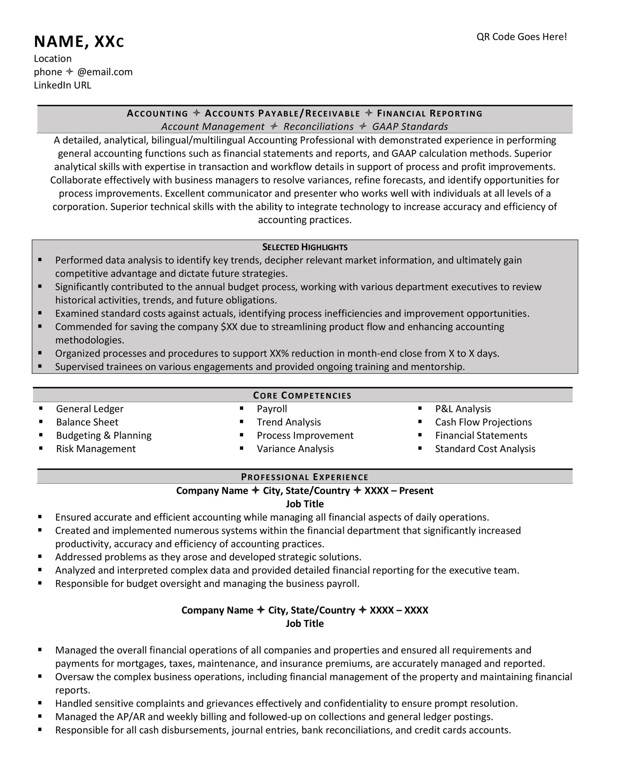 should your resume have columns examples simple two column template accounting hotel Resume Simple Two Column Resume Template