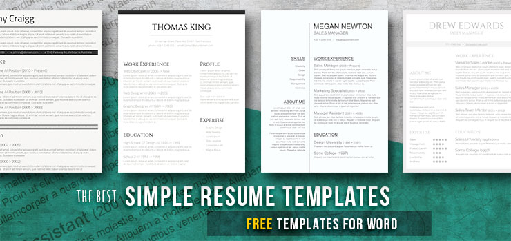 simple and basic resume templates free downloads freesumes samples caregiver objectives Resume Basic Resume Samples Free
