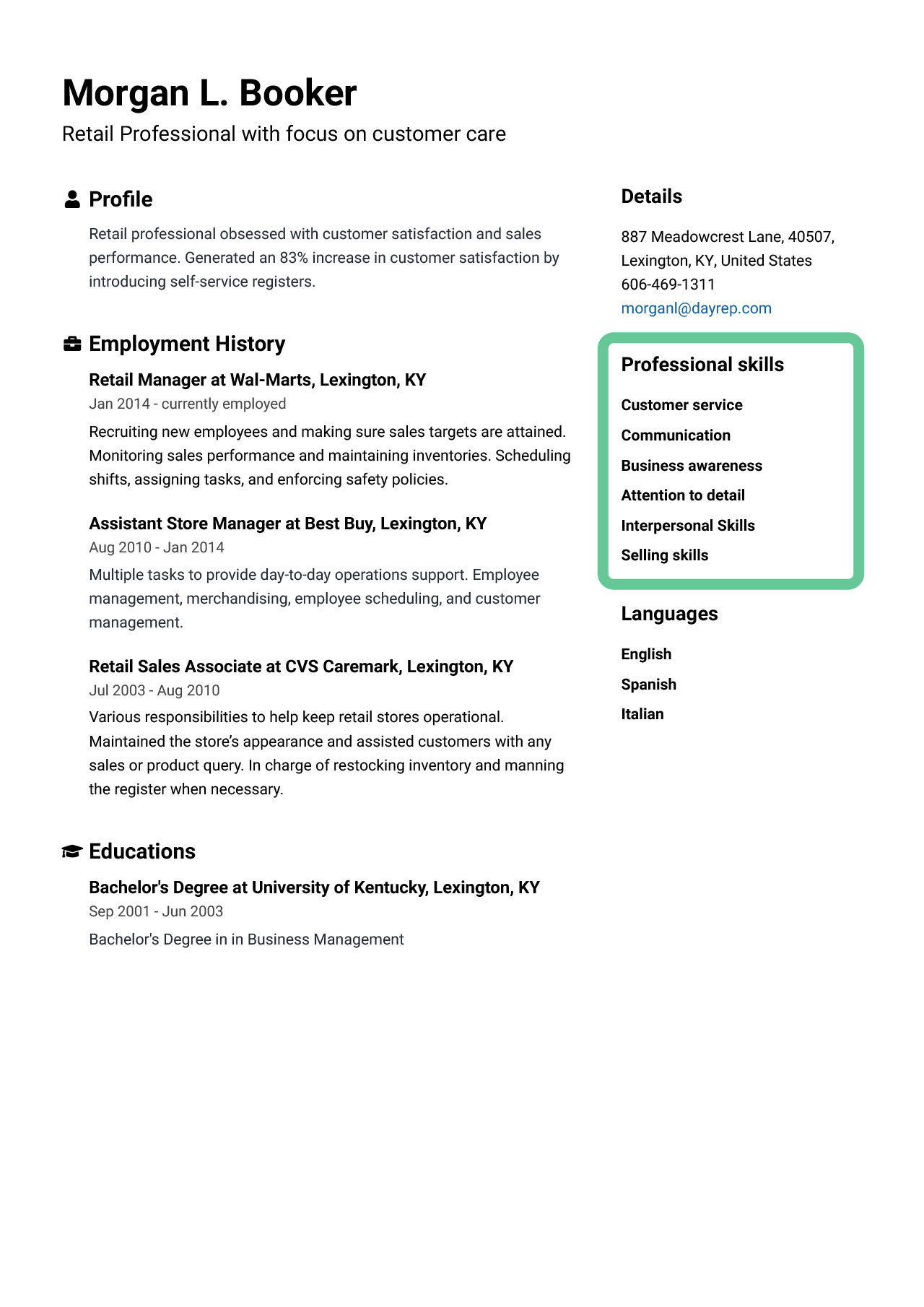 skills for resume best of examples to jofibo that are good right side highlighted sap crm Resume Skills That Are Good For A Resume
