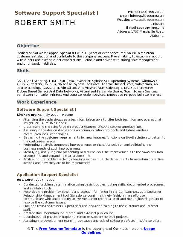 software support specialist resume samples qwikresume free for windows xp pdf ats Resume Free Resume Software For Windows Xp