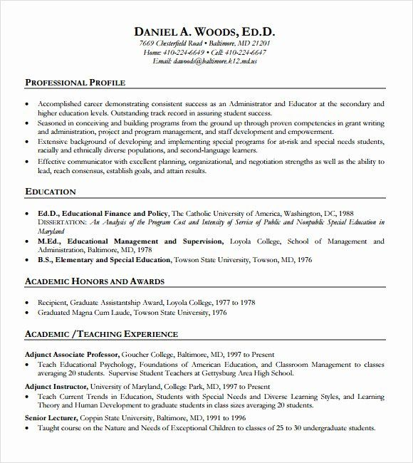 special education teacher resume examples unique free sample templates in pdf template Resume Special Education Teacher Resume