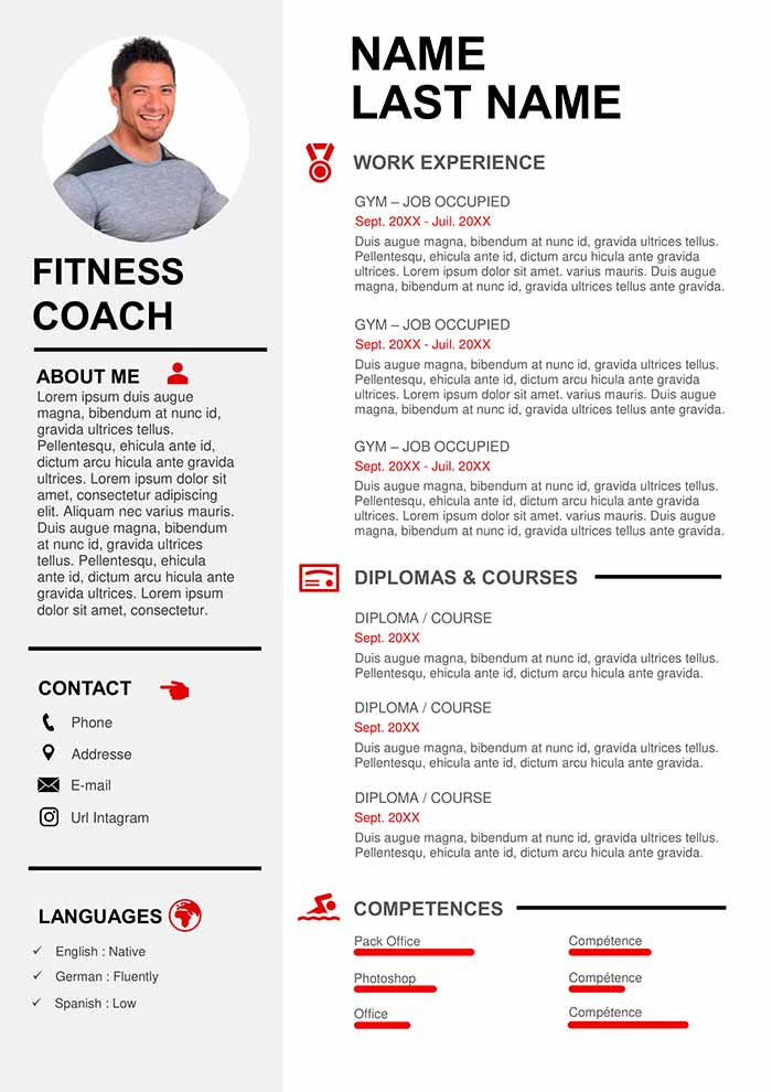 sport coaching resume sample free cv templates college athlete examples sports objective Resume College Athlete Resume Examples