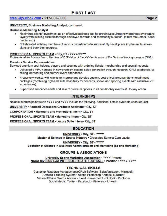 sports and coaching resume sample professional examples topresume objective for fitness Resume Objective For Sports Resume