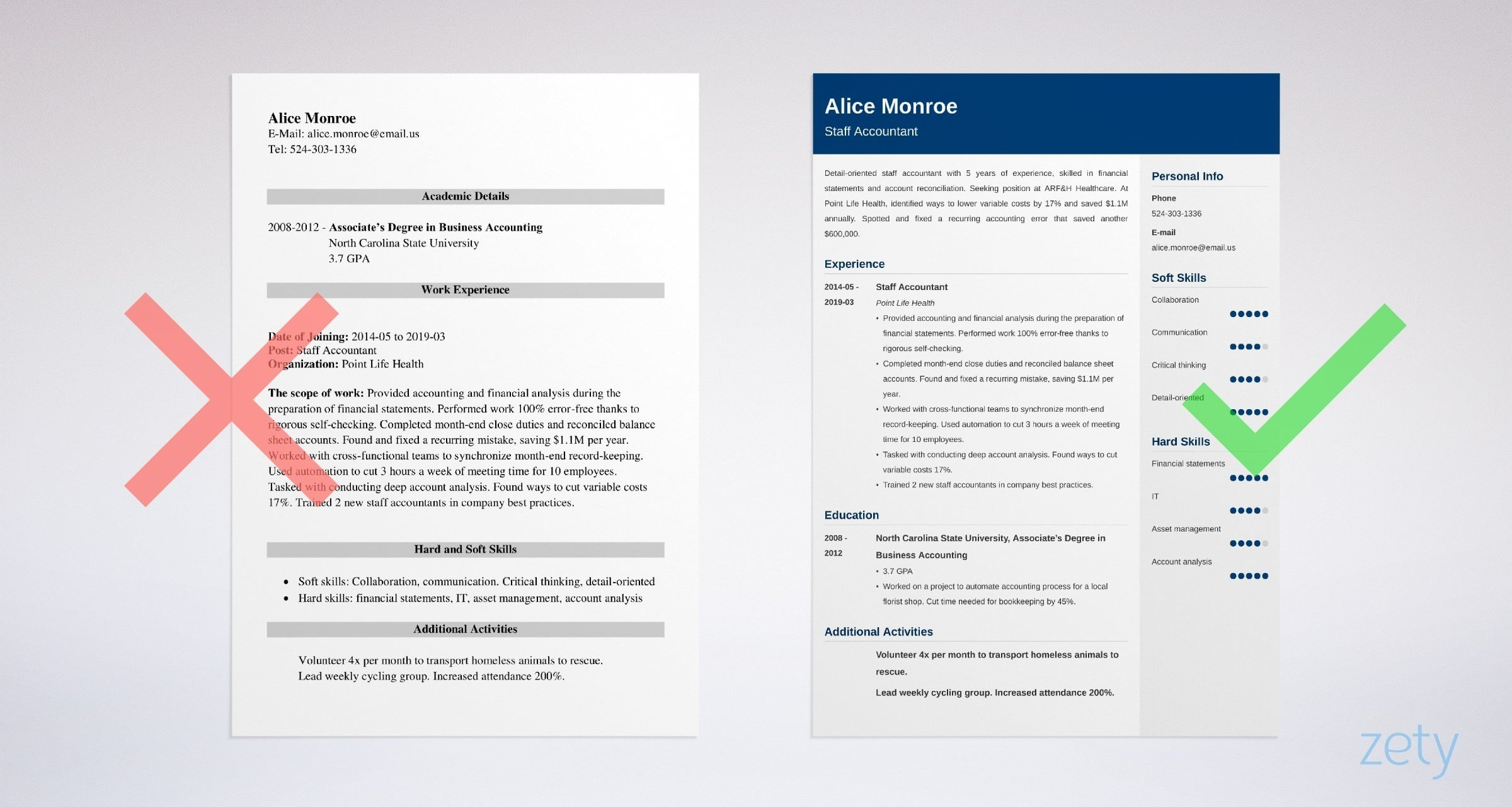 staff accountant resume sample guide examples example federal air marshal monster search Resume Staff Accountant Resume