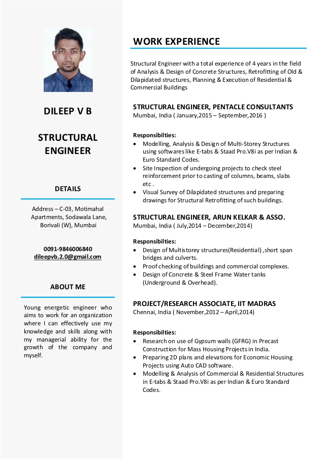 structural engineer resume civil designer objective for server bartender train sample cdl Resume Civil Structural Designer Resume