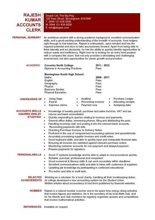 student entry level accounts clerk resume template accounting assistant sample pic cpa Resume Accounting Assistant Resume Sample