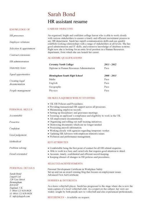 student entry level hr assistant resume template human resources pic sample for data Resume Human Resources Assistant Resume Template