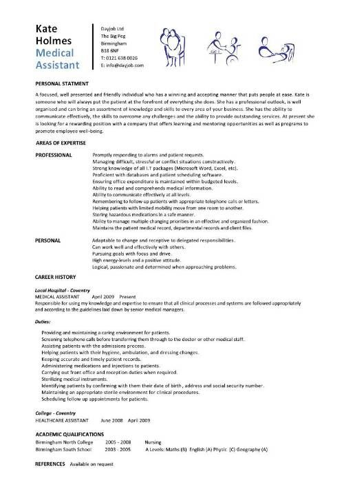 student entry level medical assistant resume template cover letter objective for project Resume Resume Objective For Medical Assistant Student