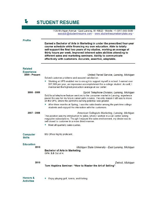 student resume templates tag easyjob free template resumes word speech editorial Resume Student Resume Free Template