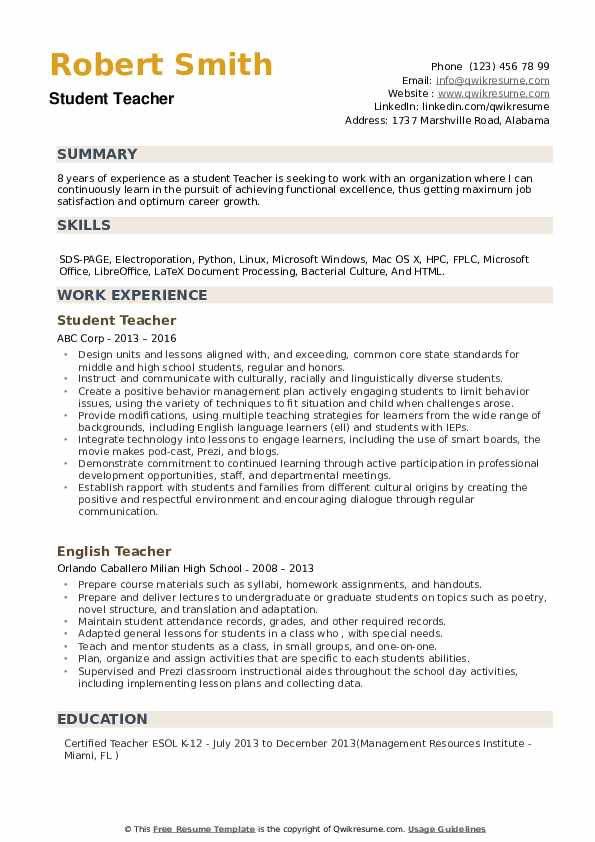 student teacher resume samples qwikresume gifted and talented pdf fast food examples Resume Gifted And Talented Teacher Resume