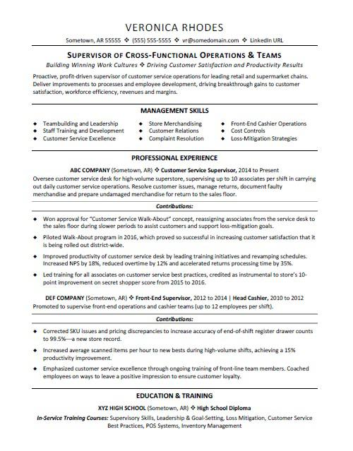 supervisor resume sample monster objective samples course high school special education Resume Supervisor Resume Objective Samples