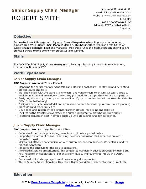 supply chain manager resume samples qwikresume logistics pdf makeup artist template Resume Supply Chain Logistics Resume