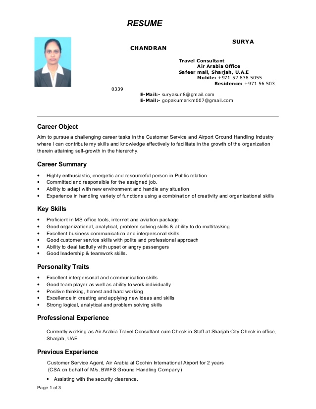 surya cv airport ground staff resume writing tips mail content phlebotomist duties front Resume Airport Ground Staff Resume