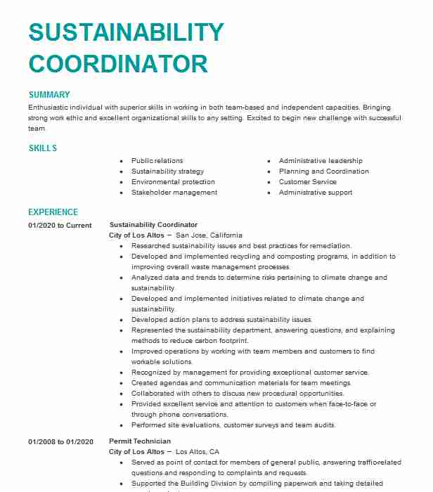 sustainability consultant resume example the compass group llc footprint complaints Resume Resume Footprint Complaints