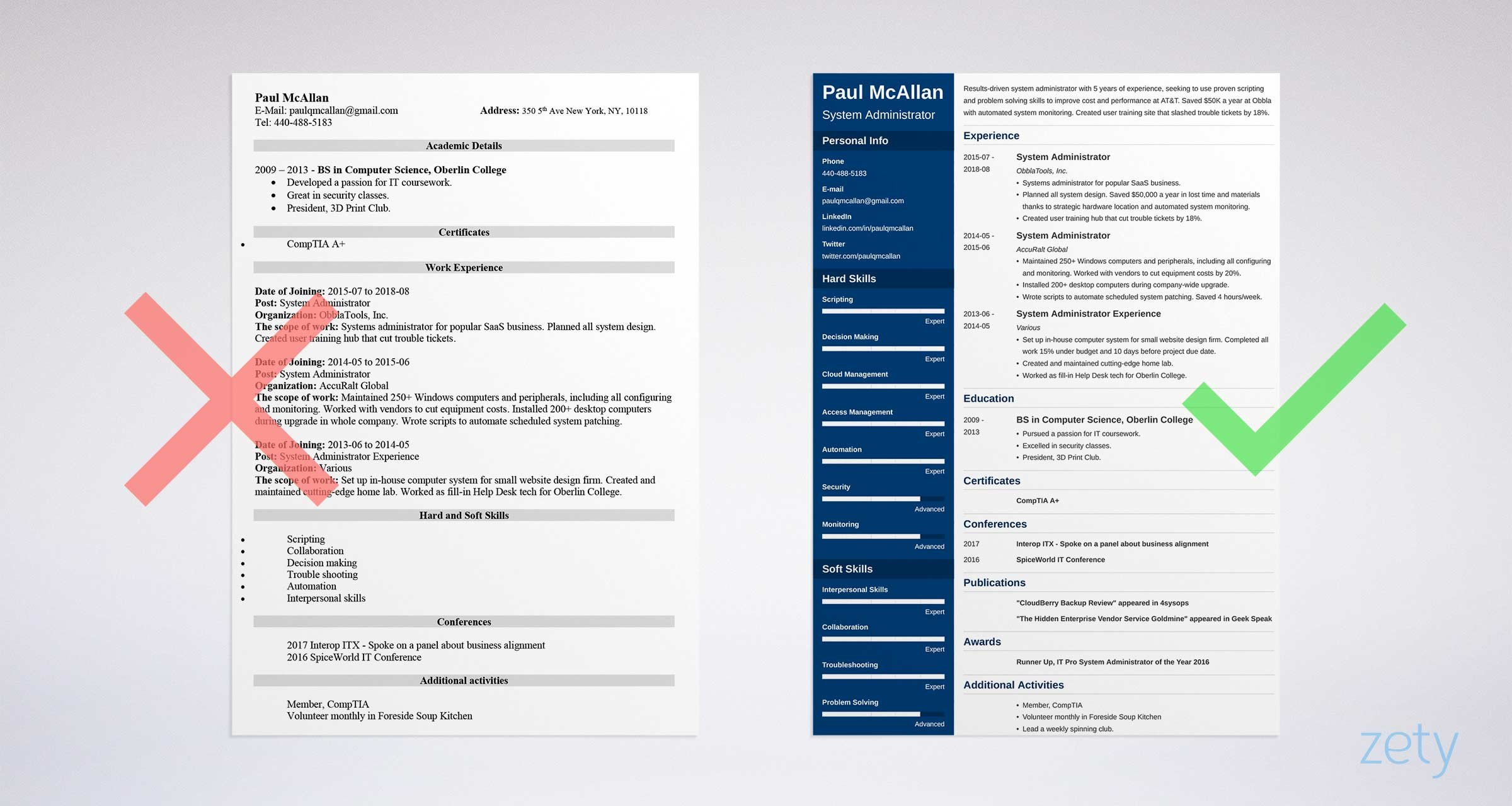 system administrator resume sample windows or linux physical education teacher software Resume System Administrator Resume Sample