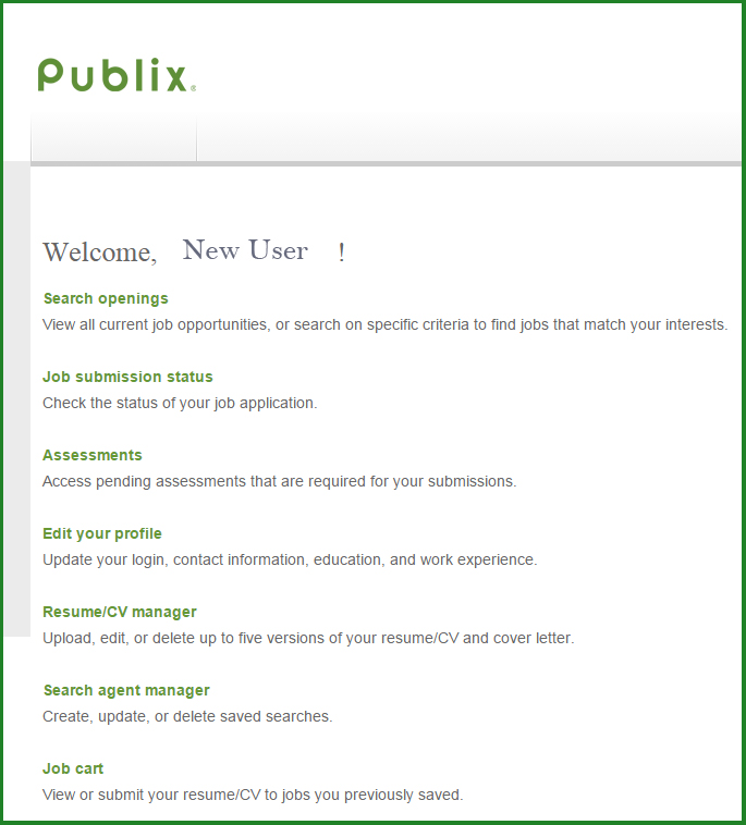 taking your job search to new level publix jobs blog customer service resume kenexa Resume Publix Customer Service Resume