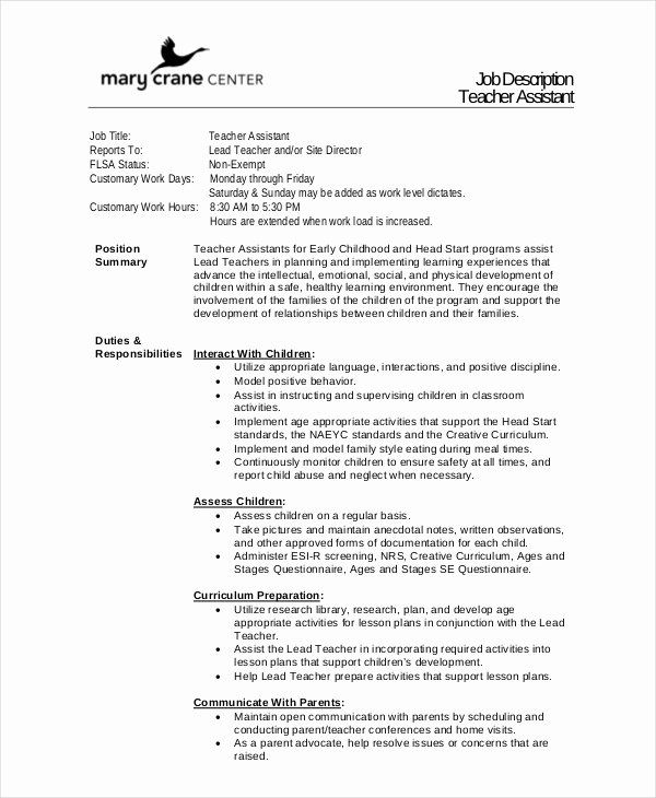 teacher aide job description resume awesome descriptions free sample example format in Resume Resume Description For Teacher