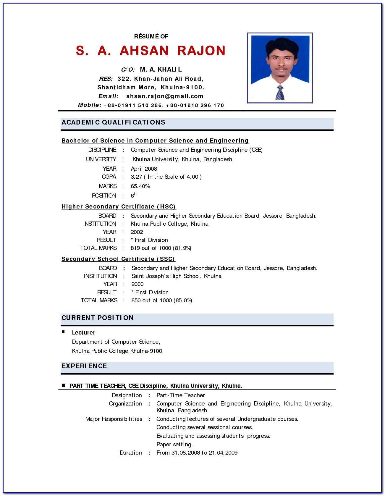 teacher resume templates free sample example format vincegray2014 indian science Resume Indian Science Teacher Resume Format