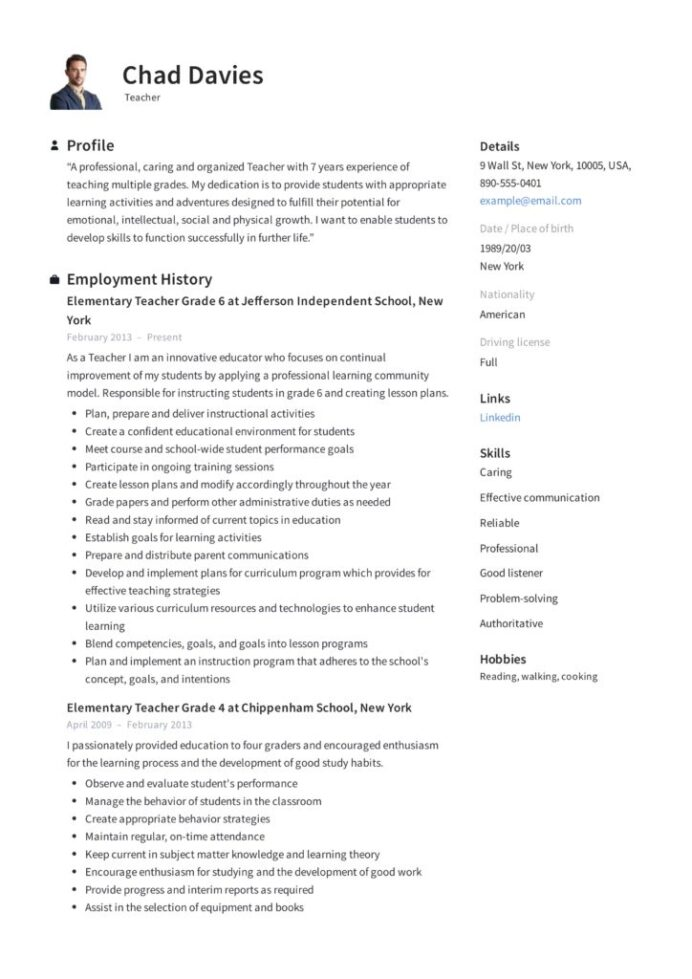 teacher resume writing guide examples pdf capabilities sample elementary 724x1024 leap Resume Resume Capabilities Sample