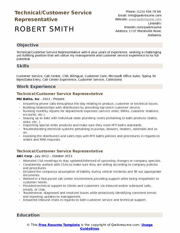 technical customer service representative resume samples qwikresume support pdf chief Resume Technical Support Representative Resume