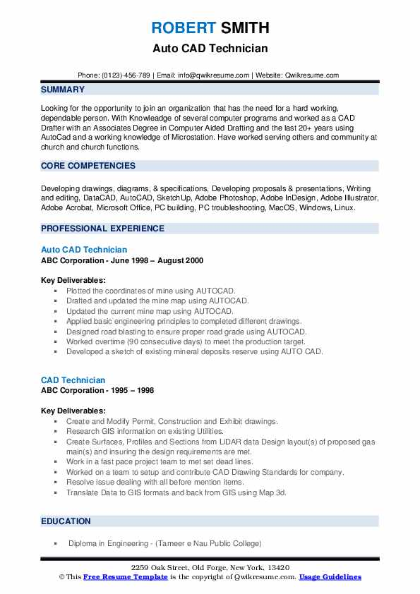 technician resume samples qwikresume architectural technologist sample pdf templates for Resume Architectural Technologist Resume Sample