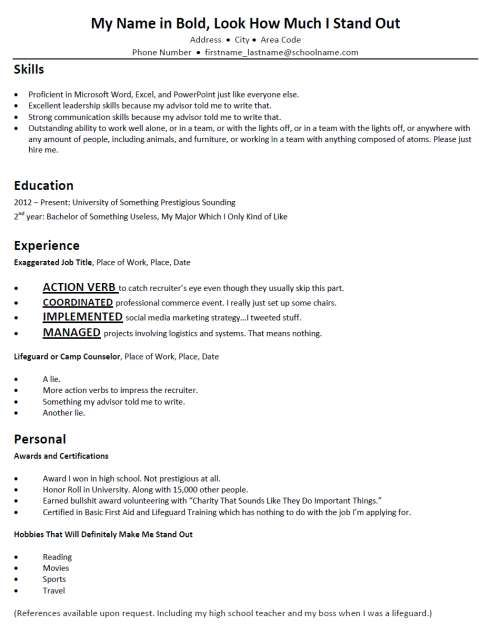 terribly typical mock resumes resume skills counselor job description interview samples Resume Mock Interview Resume Samples